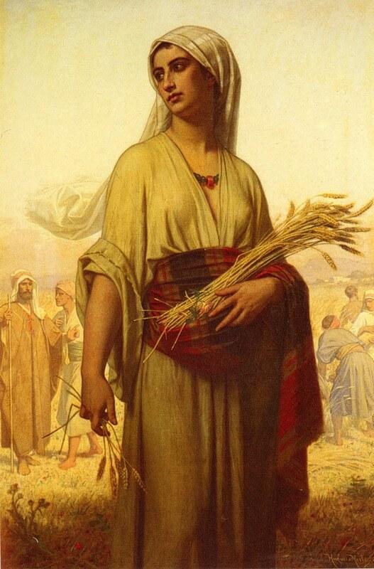 иллюстрация к библии РУФЬ глава 3