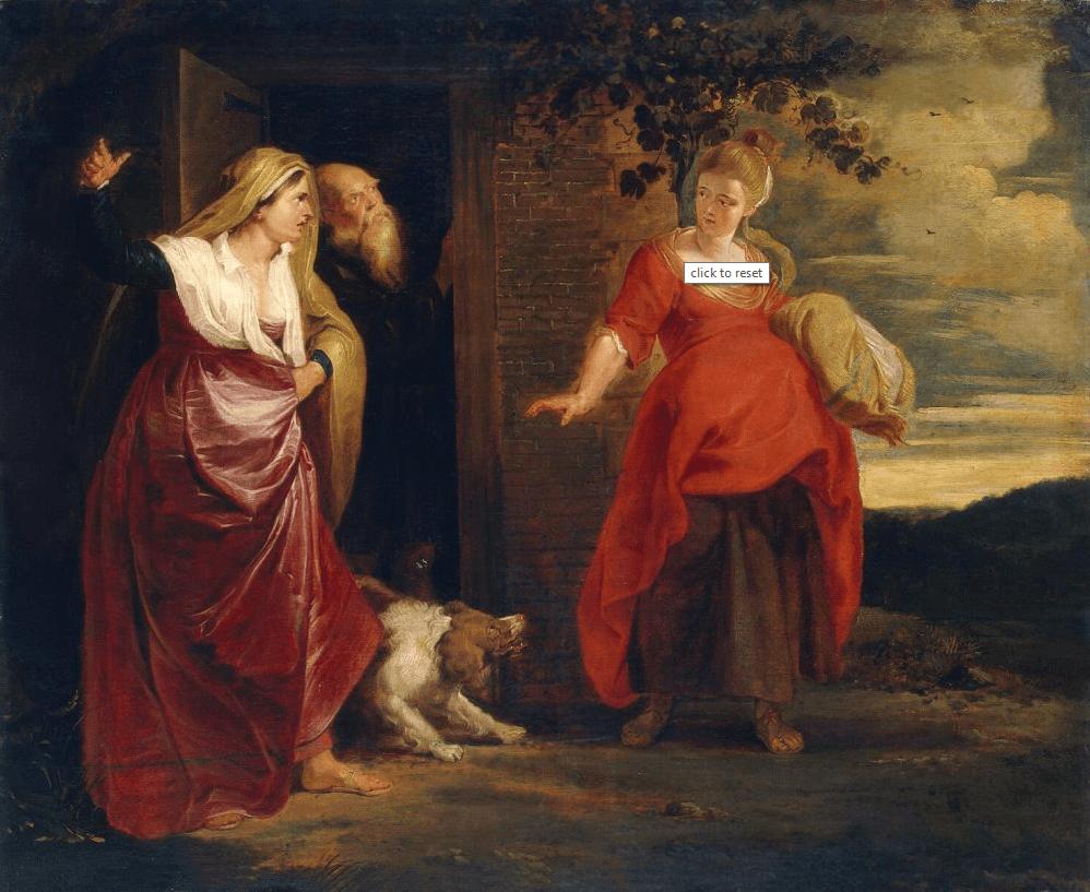 иллюстрация к библии Книга Бытие глава 16
