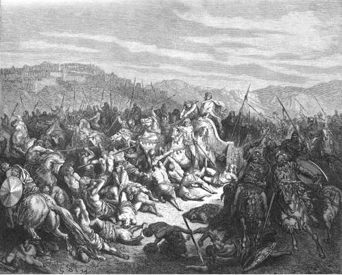 иллюстрация к библии ТРЕТЬЯ КНИГА ЦАРСТВ глава 20