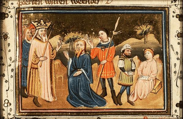 иллюстрация к библии КНИГА ЕСФИРЬ глава 3