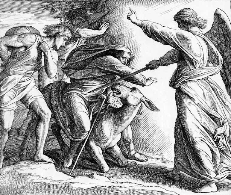иллюстрация к библии ЧИСЛА глава 22