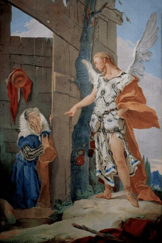 иллюстрация к библии Книга Бытие глава 21