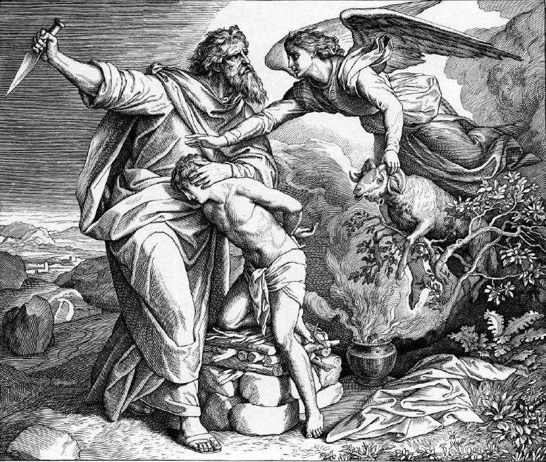 иллюстрация к библии БЫТИЕ глава 22