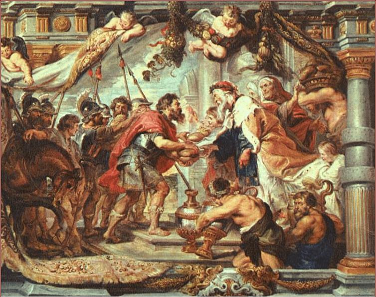 иллюстрация к библии Книга Бытие глава 14