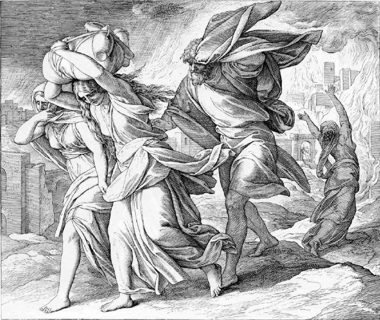 иллюстрация к библии БЫТИЕ глава 19