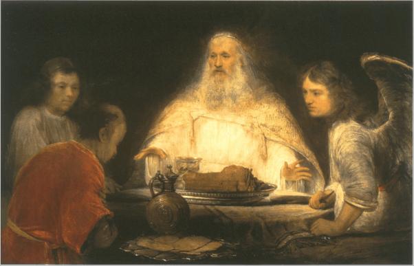 иллюстрация к библии Книга Бытие глава 18