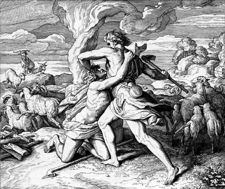 иллюстрация к библии БЫТИЕ глава 4