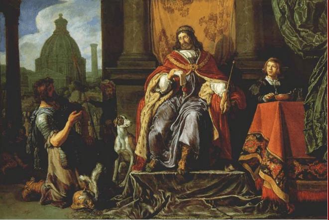 иллюстрация к библии ВТОРАЯ КНИГА ЦАРСТВ глава 11