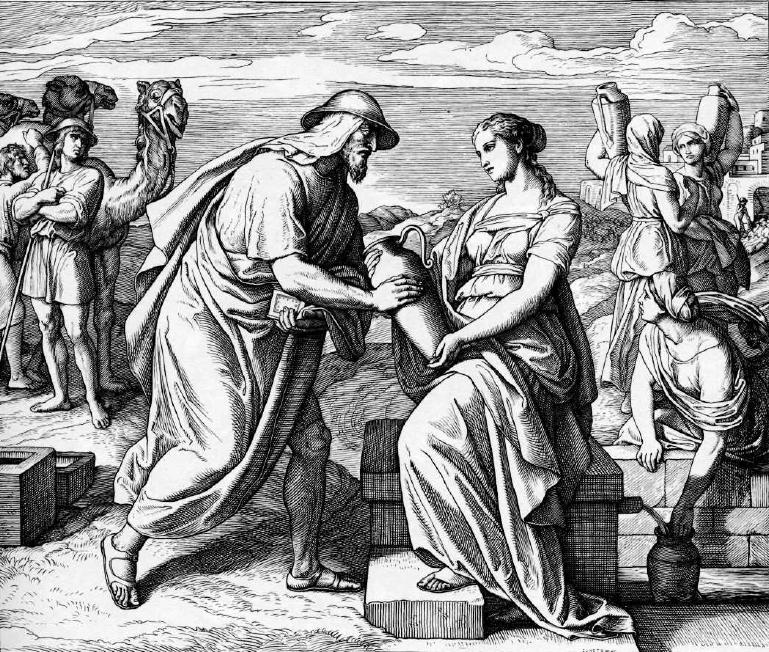 иллюстрация к библии БЫТИЕ глава 24