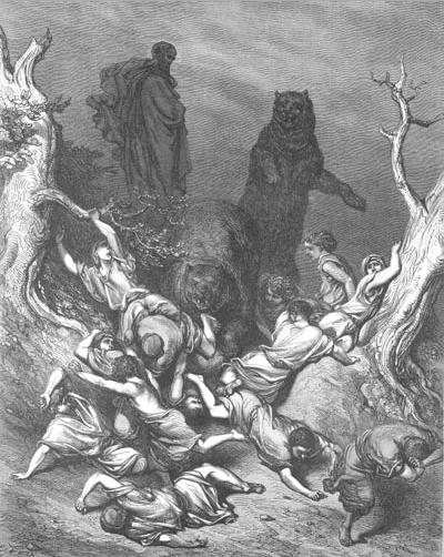 иллюстрация к библии ЧЕТВЁРТАЯ КНИГА ЦАРСТВ глава 2