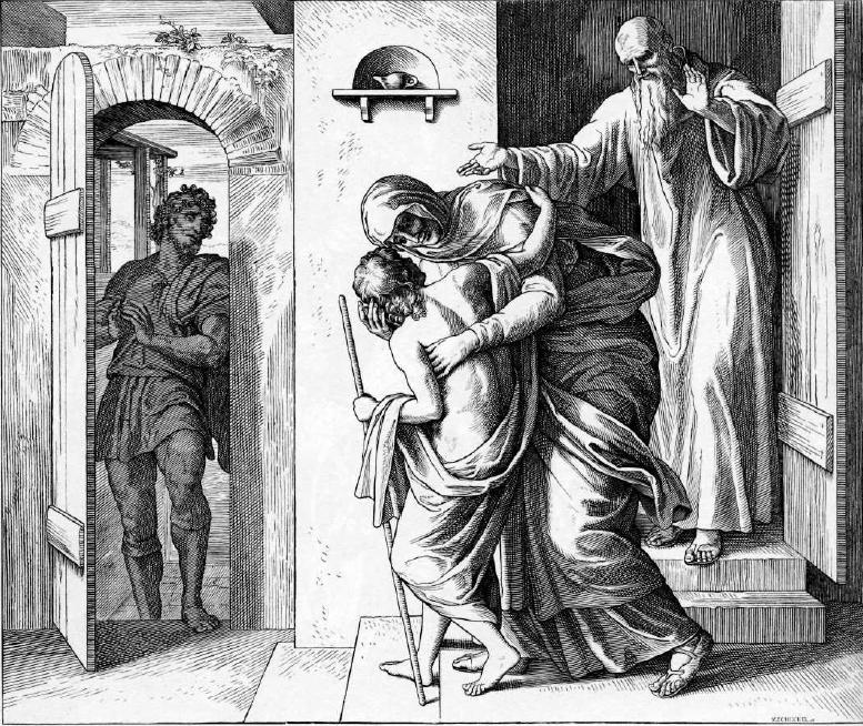иллюстрация к библии ЧЕТВЁРТАЯ КНИГА ЦАРСТВ глава 4