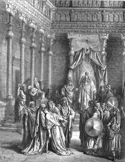 иллюстрация к библии КНИГА ЕСФИРЬ глава 5