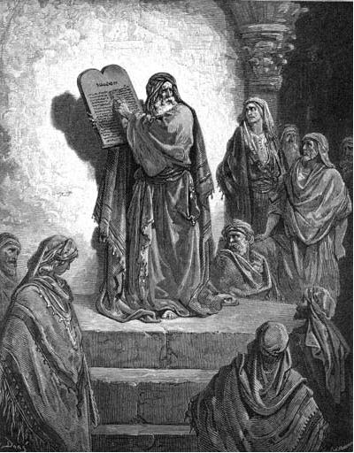 иллюстрация к библии КНИГА НЕЕМИИ глава 8