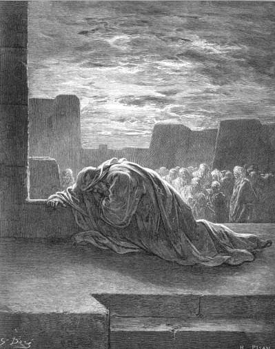 иллюстрация к библии КНИГА ЕЗДРЫ глава 9