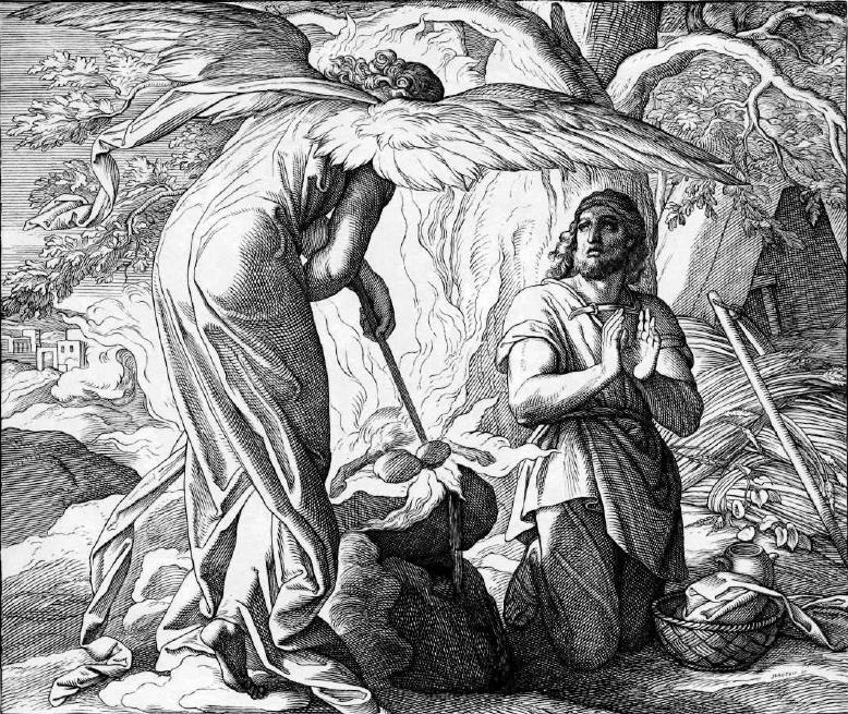иллюстрация к библии КНИГА СУДЕЙ ИЗРАЕЛЕВЫХ глава 6