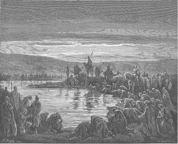 иллюстрация к библии КНИГА СУДЕЙ ИЗРАЕЛЕВЫХ глава 7