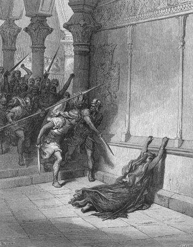 иллюстрация к библии ЧЕТВЁРТАЯ КНИГА ЦАРСТВ глава 11