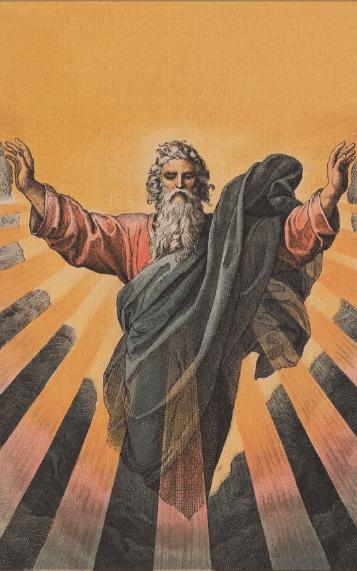 иллюстрация к библии ВТОРОЗАКОНИЕ глава 1