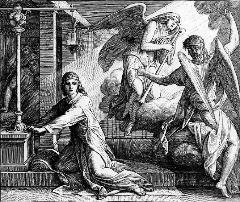 иллюстрация к библии ПЕРВА КНИГА ЦАРСТВ глава 3