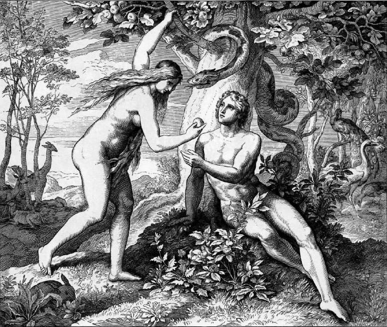 иллюстрация к библии БЫТИЕ глава 3