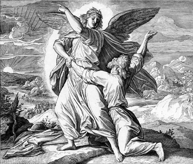 иллюстрация к библии БЫТИЕ глава 32