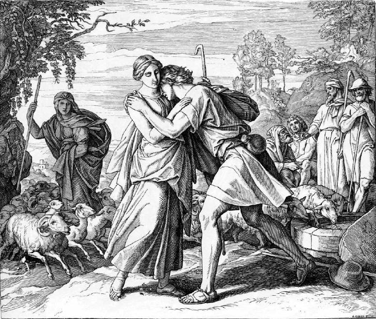 иллюстрация к библии БЫТИЕ глава 29