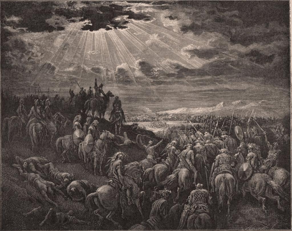 иллюстрация к библии Иисус Навин глава 1