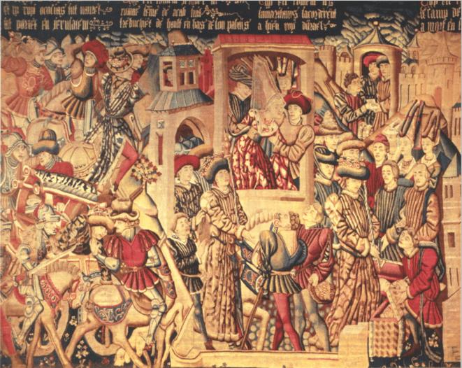 иллюстрация к библии ЧЕТВЁРТАЯ КНИГА ЦАРСТВ глава 9