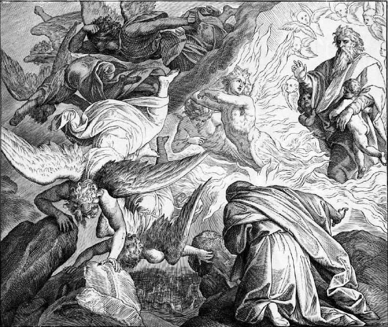 иллюстрация к библии ТРЕТЬЯ КНИГА ЦАРСТВ глава 19