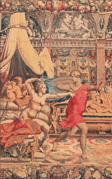 иллюстрация к библии Бытие глава 39