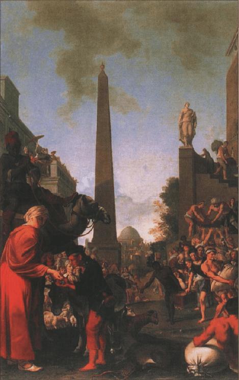 иллюстрация к библии Бытие глава 47