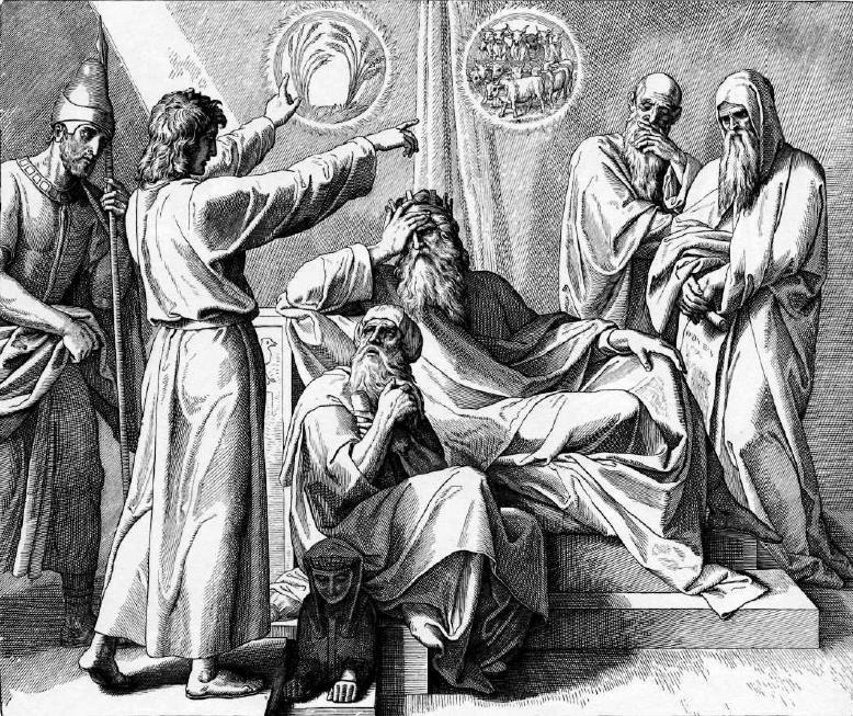иллюстрация к библии БЫТИЕ глава 41