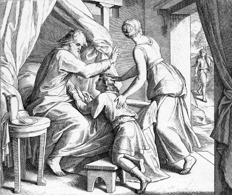 иллюстрация к библии БЫТИЕ глава 27
