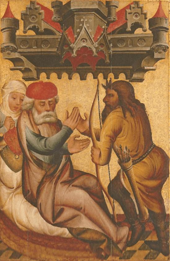 иллюстрация к библии Книга Бытие глава 27