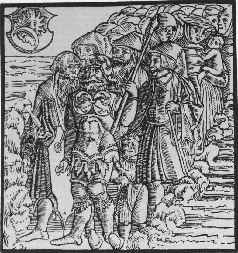 иллюстрация к библии Иисуса Навина глава 3