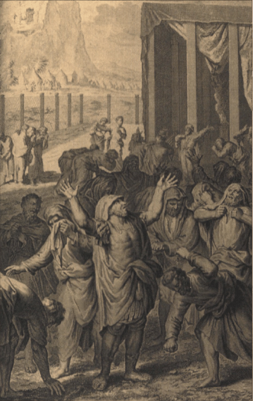 иллюстрация к библии ВТОРОЗАКОНИЕ глава 33