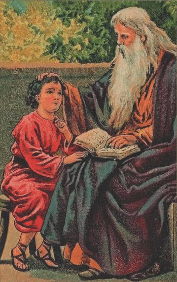 иллюстрация к библии ВТОРОЗАКОНИЕ глава 7