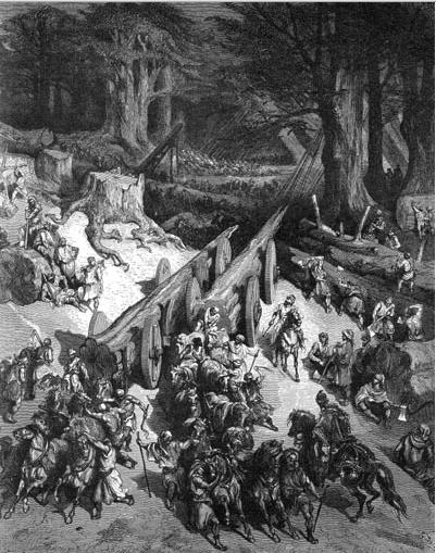 иллюстрация к библии ТРЕТЬЯ КНИГА ЦАРСТВ глава 5
