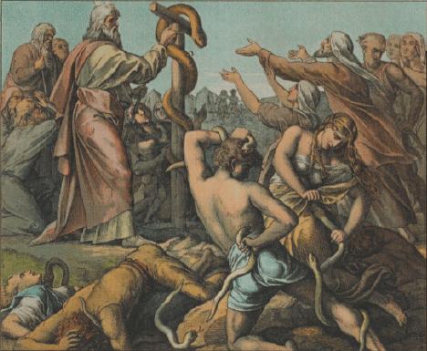 иллюстрация к библии ЧИСЛА глава 21