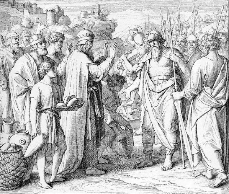 иллюстрация к библии БЫТИЕ глава 14