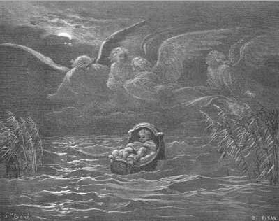 иллюстрация к библии Исход глава 1