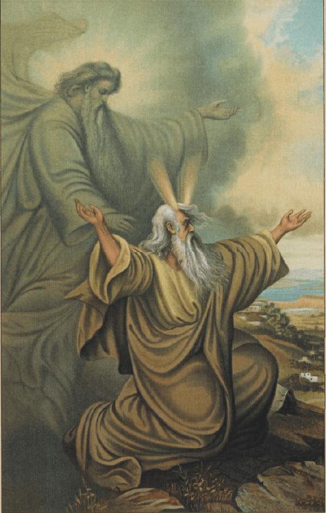 иллюстрация к библии ЧИСЛА глава 9