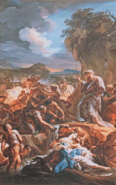 иллюстрация к библии ЧИСЛА глава 20