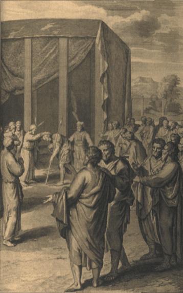 иллюстрация к библии ВТОРОЗАКОНИЕ глава 31