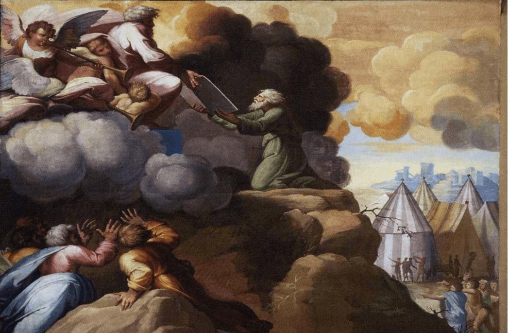 иллюстрация к библии Исход глава 31