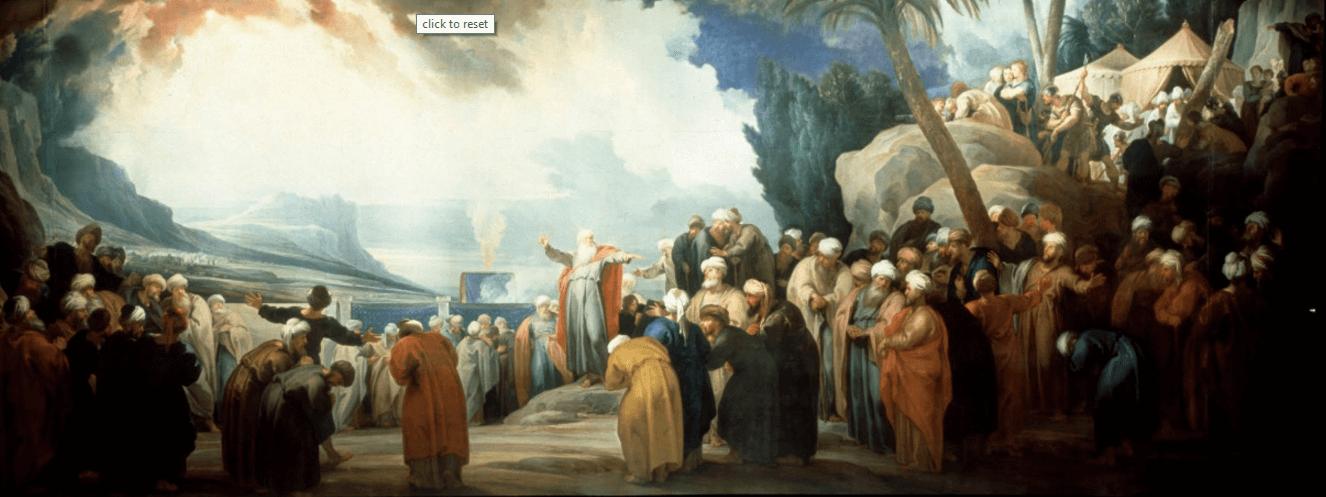 иллюстрация к библии ЧИСЛА глава 11