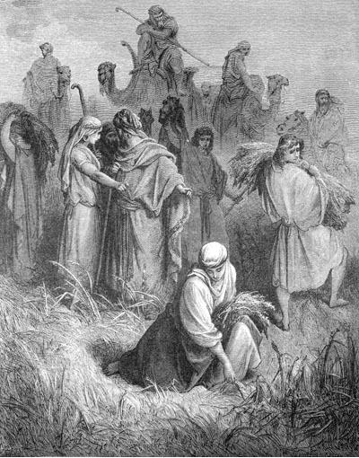 иллюстрация к библии РУФЬ глава 2