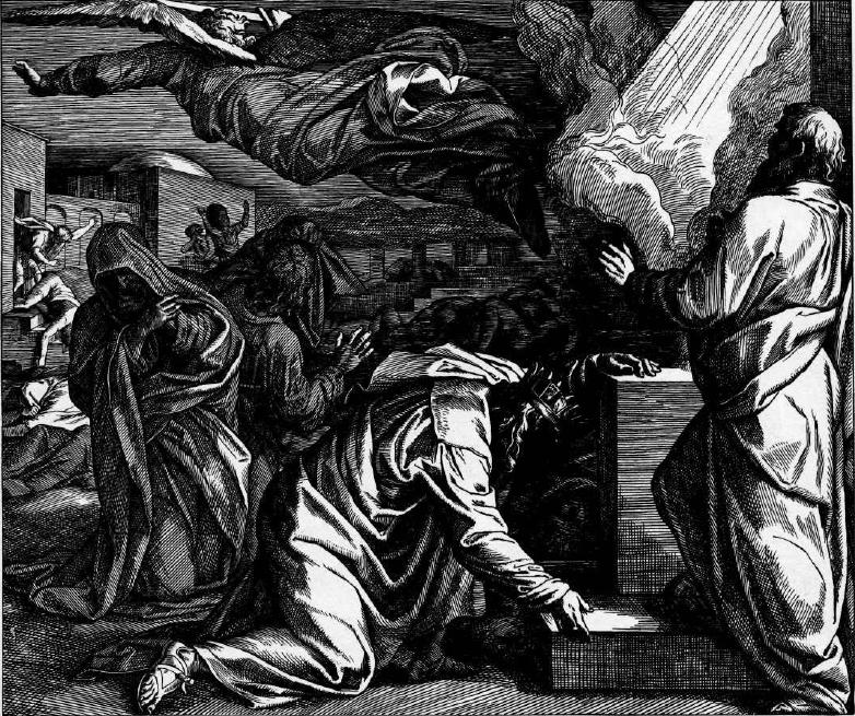 иллюстрация к библии ВТОРАЯ КНИГА ЦАРСТВ глава 24