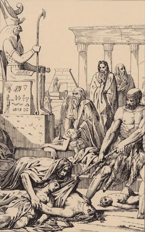 иллюстрация к библии Исход глава 9
