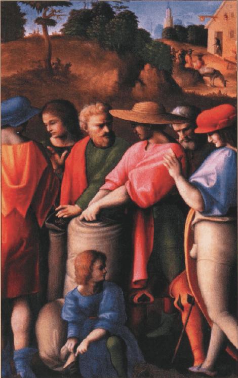 иллюстрация к библии Бытие глава 44